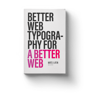 Better Web Type book